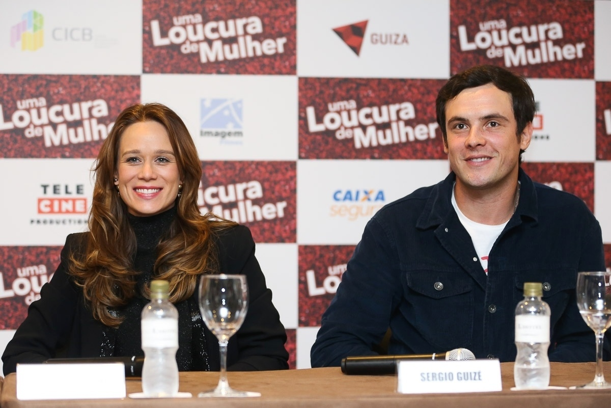 24.abr.2016 - Mariana Ximenes participa de uma entrevista coletiva do filme