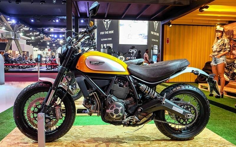 Ducati Scrumbler no Salão Duas Rodas 2015