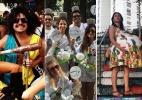 Foliões contam como montaram fantasias que arrasaram no bloco de Carnaval - Montagem/Arquivo pessoal