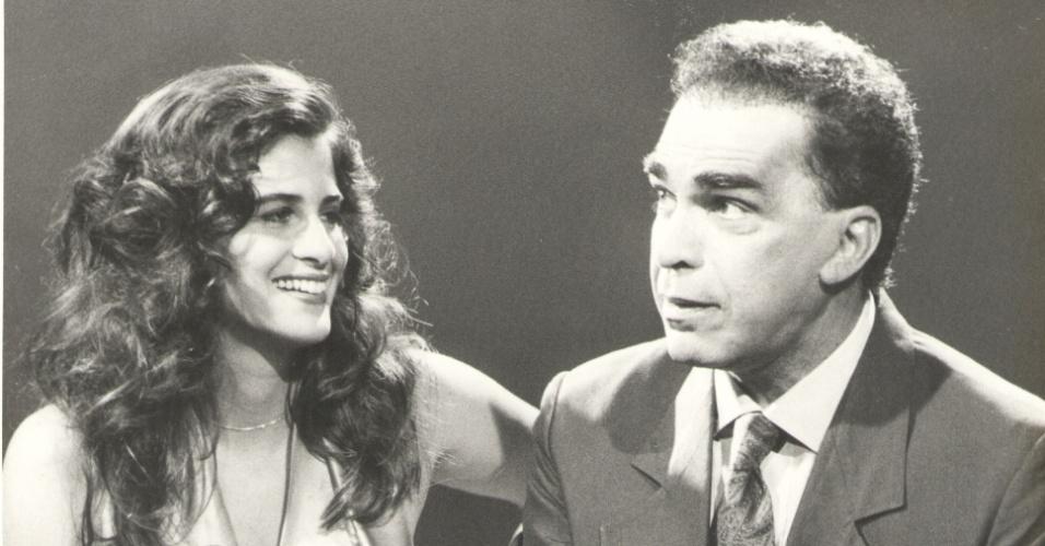 Lúcia Veríssimo e o pai, o músico Severino Filho