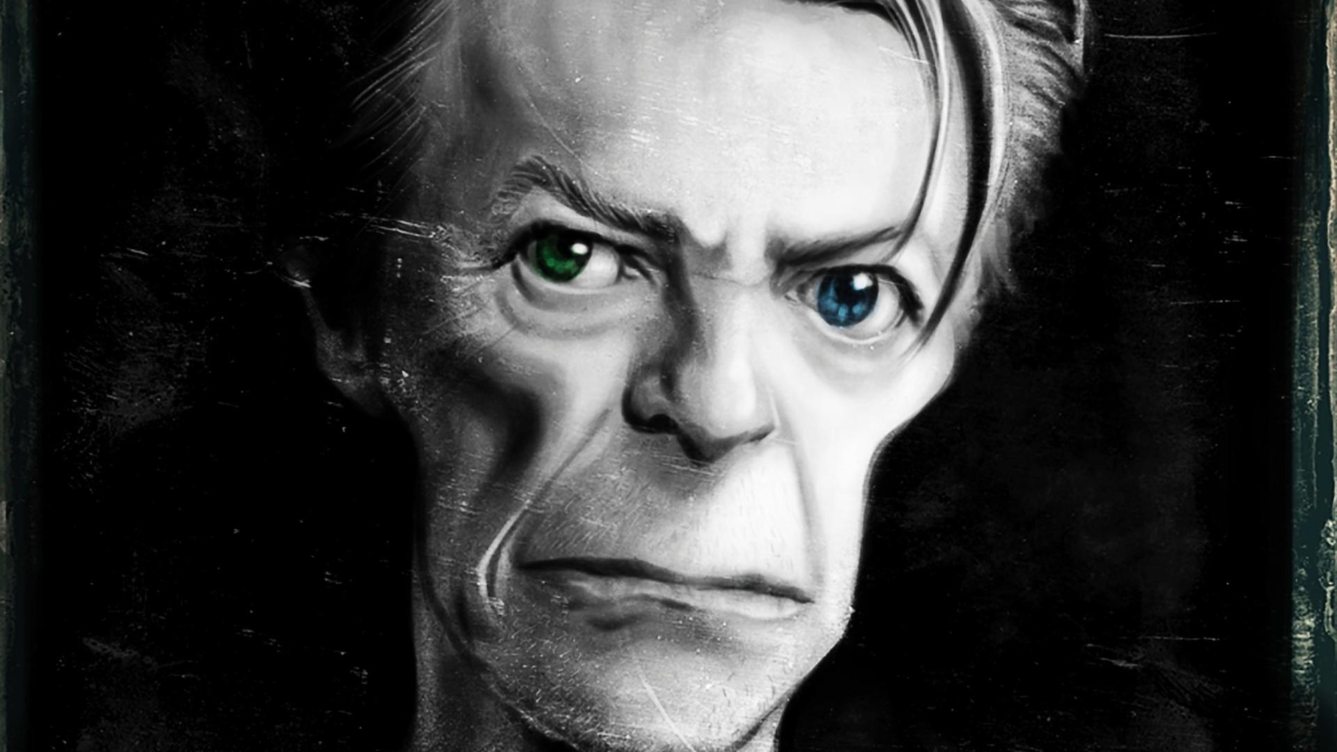 Ale Santos prestou homenagem ao cantor David Bowie com uma imagem marcante do artista