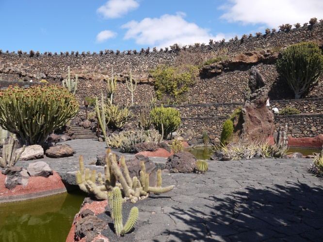 pedras jardim botanico:lago e as paredes de pedras também estão entre as atrações do