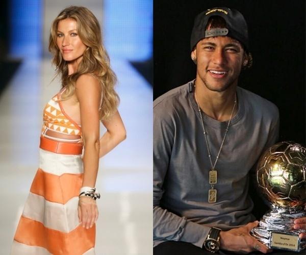 Gisele Bündchen e Neymar são as celebridades brasileiras mais bem pagas do mundo segundo a Forbes