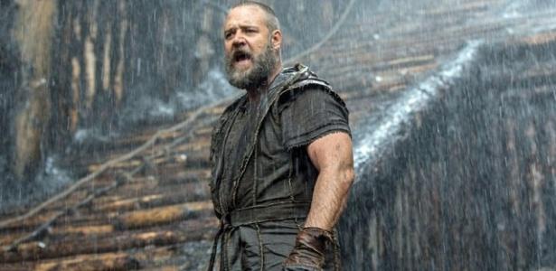 """Russell Crowe no filme """"Noé"""", que estreia na Globo nesta quarta (20)"""