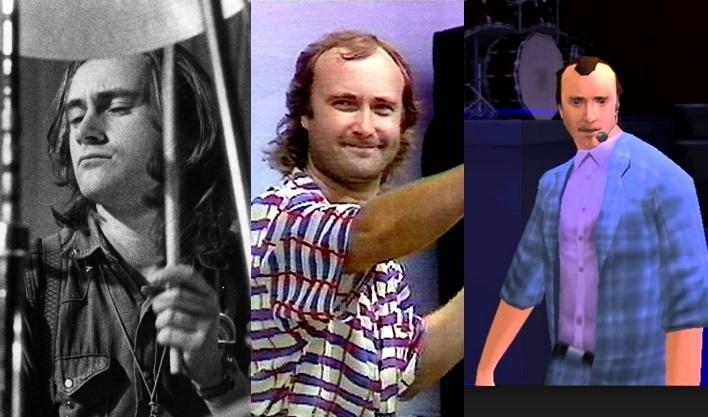 O cantor Phil Collins, que colecionou inúmeros feitos durante a carreira