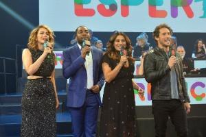 """Leandra Leal, Lázaro Ramos, Dira Paes e Flávio Canto no """"Criança Esperança"""""""