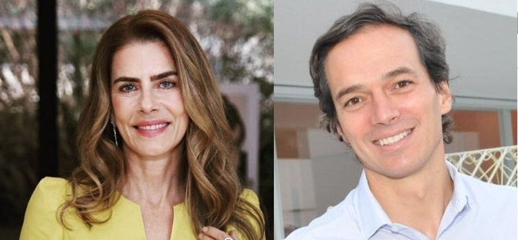 Maitê Proença assume namoro com o empresário Eduardo Faria de Carvalho