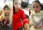 Mulher faz cosplay para criticar regras de vestimenta no trabalho - Reprodução