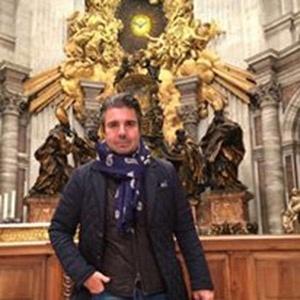 João Kleber assiste à missa celebrada pelo Papa Francisco no Vaticano