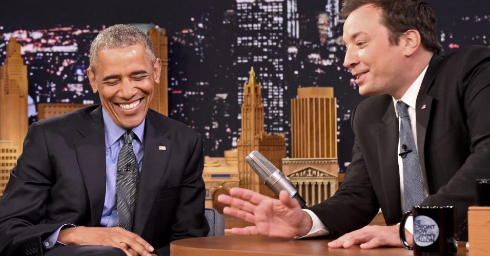 Barack Obama no programa