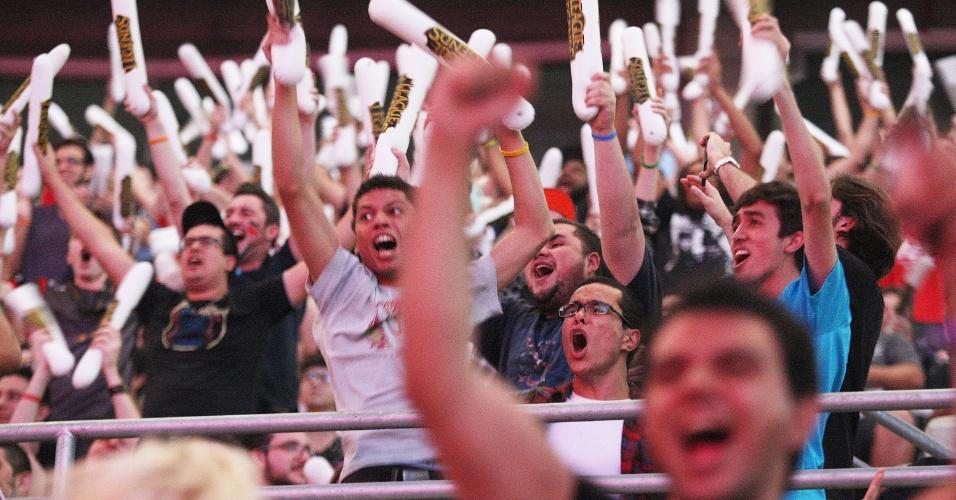 Cerca de doze mil pessoas vieram assistir a final do campeonato brasileiro de