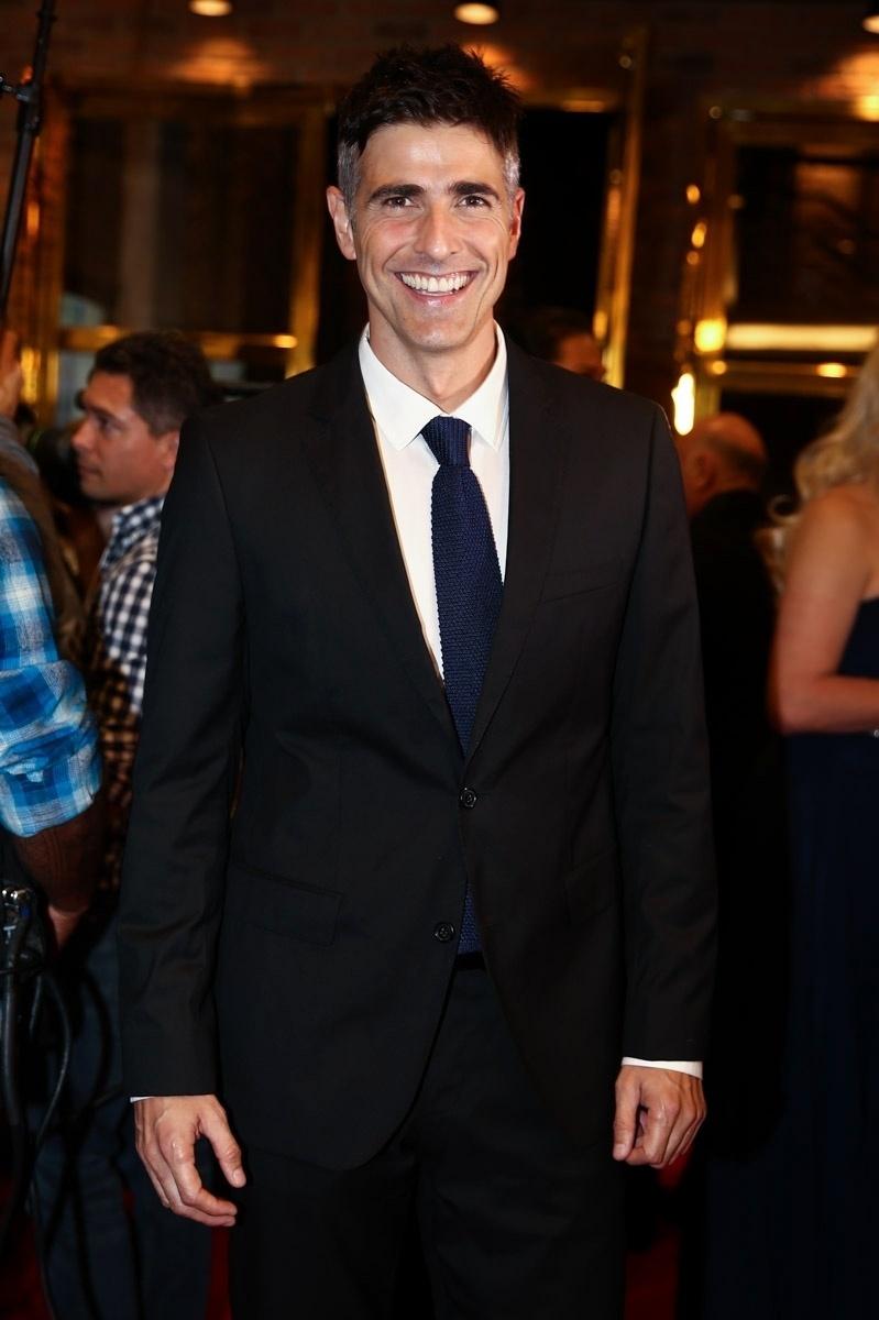 27.jul.2015 - O ator Reynaldo Gianecchini foi conferir a sessão para convidados do espetáculo
