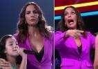 """Ivete Sangalo completa um mês de """"The Voice Kids"""" usando a mesma roupa - Montagem/Reprodução/TV Globo"""