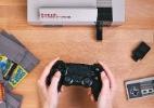 Adaptador permite usar controles de PS4 e Wii U no Nintendinho - Divulgação