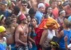 Com presença de famosos, Bloco da Favorita desfila em Copacabana - Roberto Valverde/Brazil News