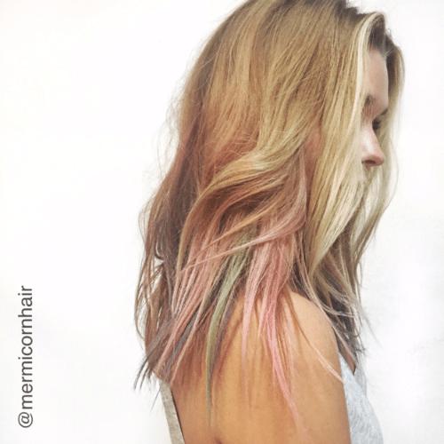Conhe a a t cnica e o resultado da colora o fluid hair for Fluid hair painting