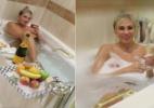 Ângela Bismarchi posa nua em banheira: