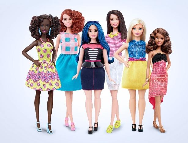 Novas bonecas terão versão com curvas, mais altas e com proporções menores