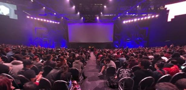 Por dentro do concorrido Auditório Cinemark da CCXP: veja foto 360º