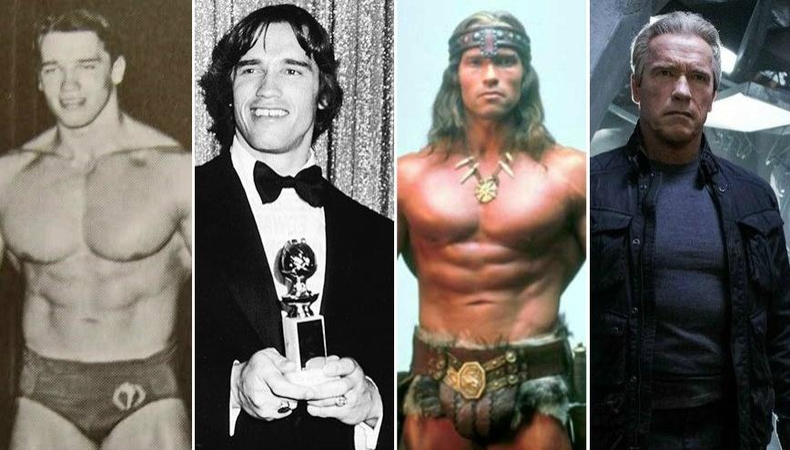 Linha do tempo relembra a carreira de Arnold Schwarzenegger