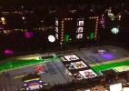 """Em intervalo de jogo, rinque de NHL vira pista de """"Mario Kart"""" - Reprodução"""