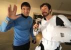 """Um stormtrooper entre trekkies: UOL invade convenção de """"Star Trek"""" - Reprodução UOL"""