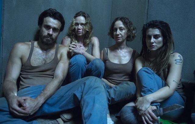 """Sérgio (Erom Cordeiro), Bruna (Mariana Ximenes), Diana (Fabiana Gugli) e Sabrina (Cléo Pires) são alguns dos participantes do reality show da série """"Supermax"""""""