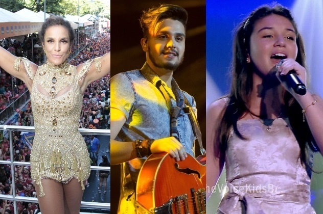 Ivete Sangalo, que gravará DVD com Luan Santana e Pérola Crepaldi