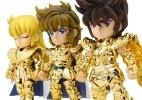 """""""Cavaleiros do Zodíaco"""" faz 30 anos de anime com novos bonecos - Divulgação"""