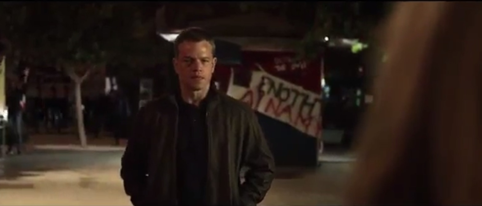 Matt Damon como Jason Bourne no trailer do novo filme da saga