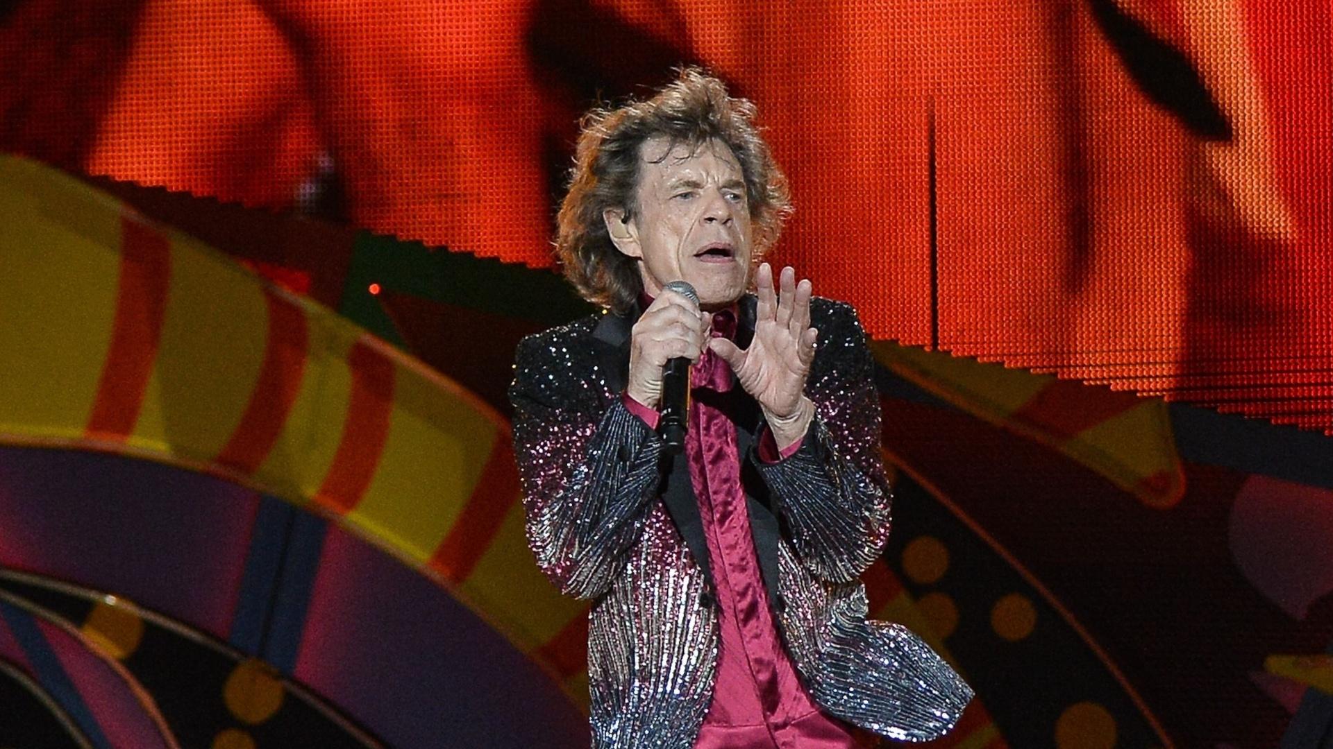 25.mar.2016 - Mick Jagger canta clássico dos Rolling Stones no primeiro show da banda em Cuba