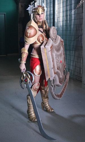 Atração à parte do CBLoL, os cosplays tinham uma área dedicada no estádio da final