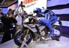 Motos-conceito e robô motociclista roubam a cena no Salão de Tóquio - Yoshikazu Tsuno/AFP