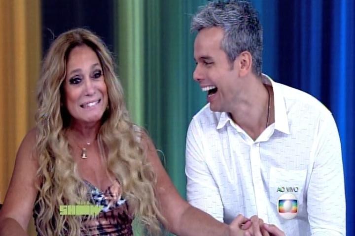 Susana Vieira com Otaviano Costa no