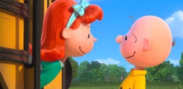"""A """"garotinha ruiva"""" apareceu ao lado de Charlie Brown na animação """"Snoopy e Charlie Brown - O Filme"""", de 2015"""
