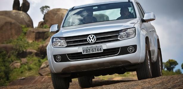 Amarok é único modelo de passeio da Volks vendido no Brasil com motor a diesel