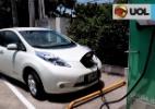 Abastecer carro elétrico custa R$ 3; assista nosso teste com o Leaf - Reprodução