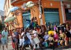 Foliões curtem o Carnaval de rua em São João Del Rei (MG) - Marcus Desimoni/UOL