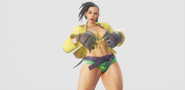 """Novo traje de Laura em """"Street Fighter V"""" tem potencial para render uma nova polêmica sobre a sexualização exagerada da personagem"""