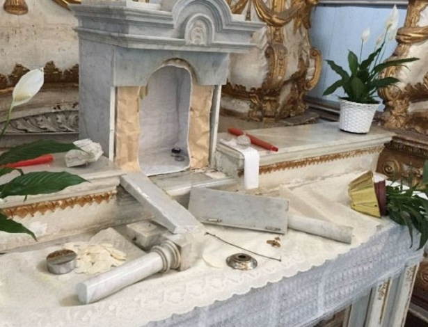 Peças de arte sacra do acervo do Iphan são furtadas de igreja em Salvador