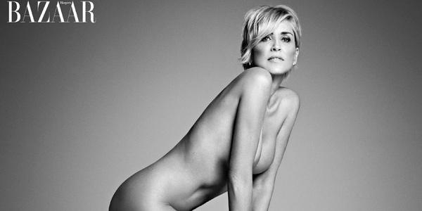 Sharon Stone na revista