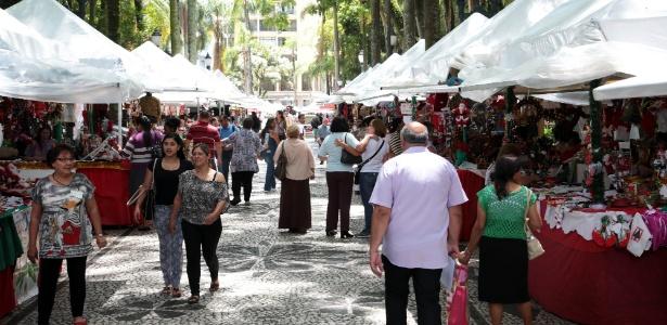 Praças de Curitiba recebem feiras de Natal até 23 de dezembro