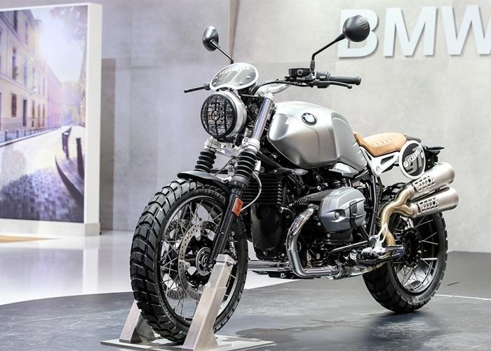 BMW R Nine T Scramble no Salão de Milão 2015
