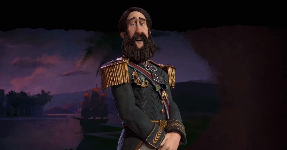 D. Pedro II Será Líder De Facção Brasileira Em