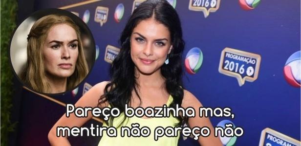 Para compor a personagem Samara, Paloma Bernardi disse que se inspirou em vilãs como a Flora (personagem da Patrícia Pillar em