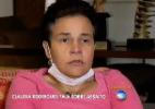 """""""Me mata, mas deixa minha filha"""", relembra Cláudia Rodrigues sobre assalto - Reprodução/TV Record"""
