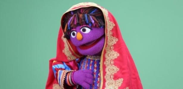"""Zari é a nova personagem da versão afegã do """"Vila Sésamo"""""""