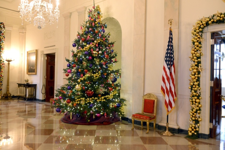 decoracao de natal para interiores de casas:de Natal da Casa Branca tem chocolates e enfeites gigantes – Casa