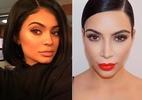 Técnica de preenchimento natural, sobrancelha ombré é aposta das Kardashians - Getty Images/Instagram