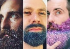 Nova febre entre os barbudos é colocar glitter nos pelos do rosto - Reprodução/Instagram